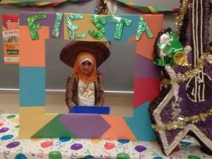 Fiesta Theme at the Scholastic Book Fair