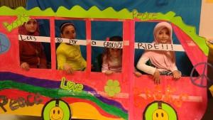 Groovy Van- Book Fair 2