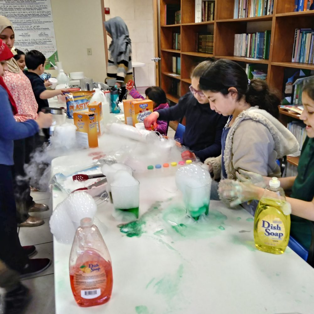 Science-Experimenting with dry ice